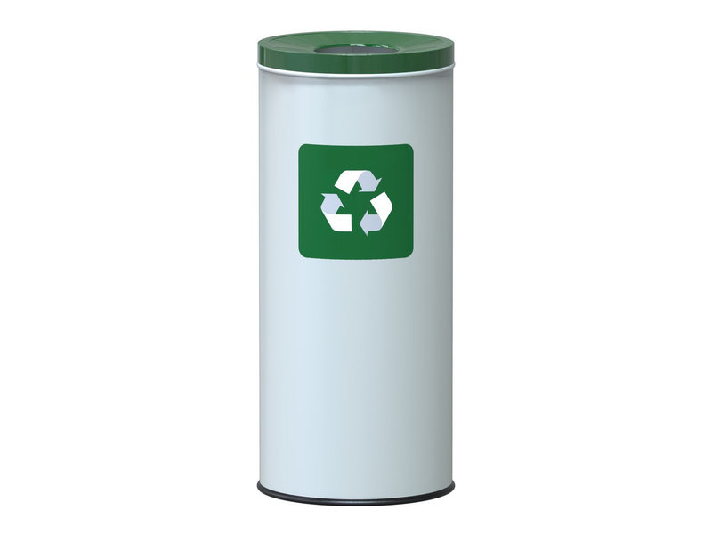Alda Eco Nord White Bin 45L - Green
