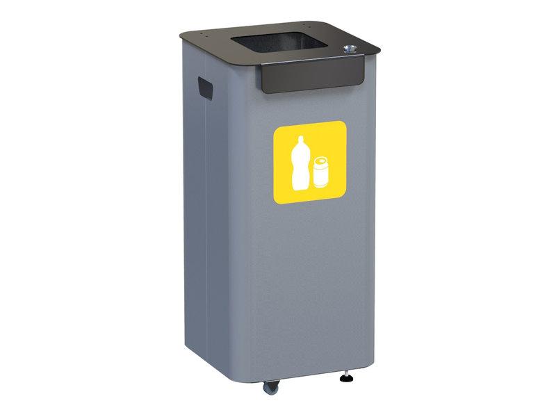 Alda Eco Modular Bin 70L - Yellow