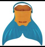 Finis - Zeemeermin Zwemvin - Bayside Blue