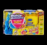 Bunch O Balloons Kit - 16 blauwe ballonnen met pomp