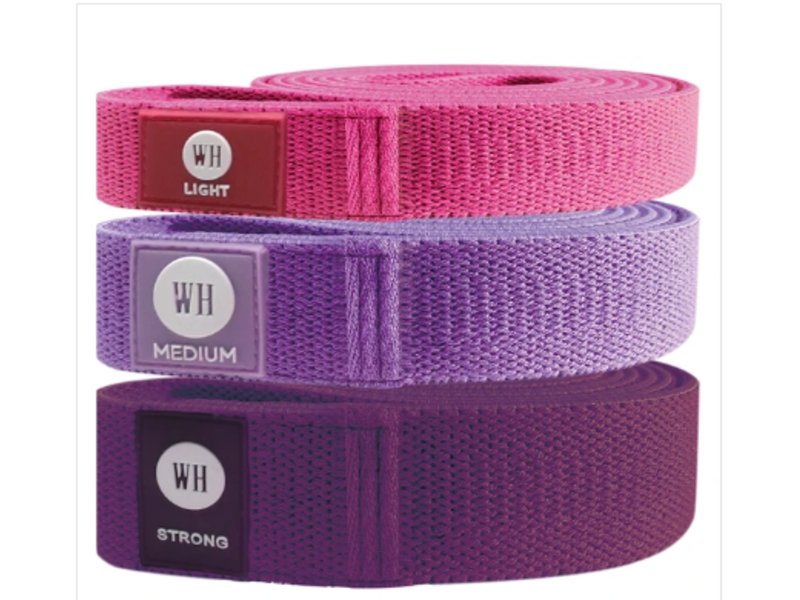 Women's Health Soft Resistance Bands - 3 Set