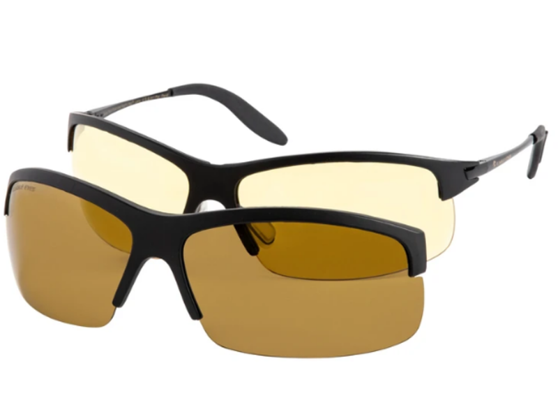 Eagle Eyes PanoVu Sunglasses Set inlc. Vivitar Binoculars