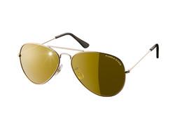 Eagle Eyes Aviator Sunglasses set of 2 - Gold