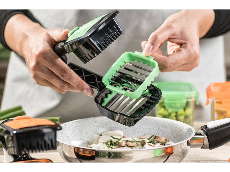 Nicer Dicer Quick - Vegetable Slicer - Green