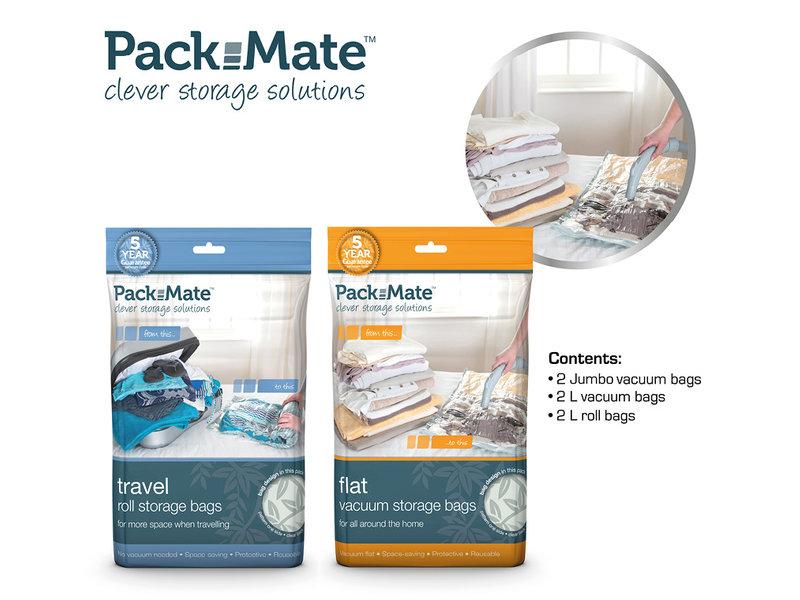 Packmate Vacuum Bag Set 6pcs set