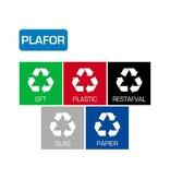 Plafor Bin Sticker Set of 5pcs