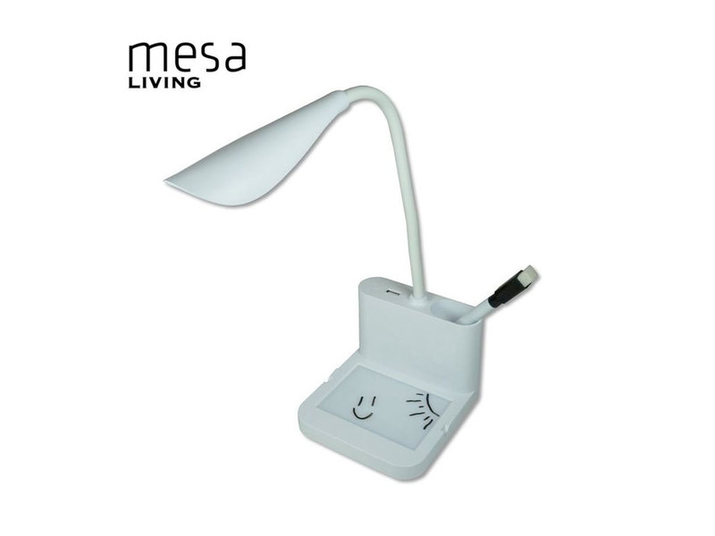 Mesa Living Multifunctionele Bureaulamp