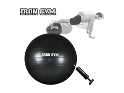 Iron Gym - Exercise Ball 65cm Incl. Pomp