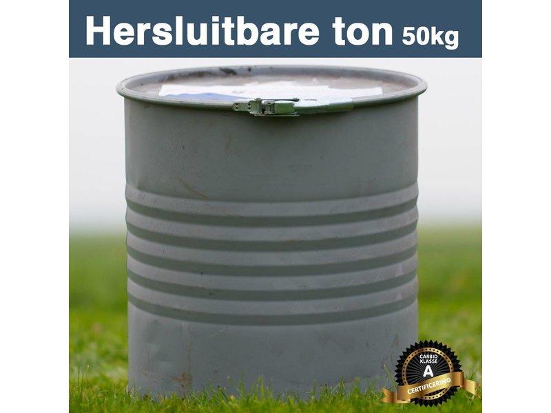 Carbid 50 kilo Hersluitbare Ton
