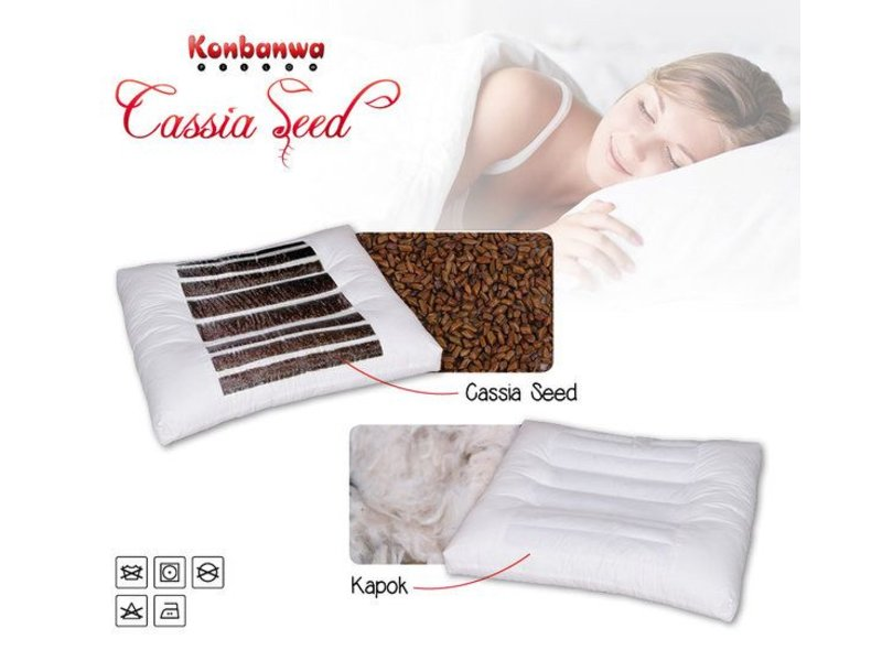 Cassia Seed Pillow by Konbanwa Pillow