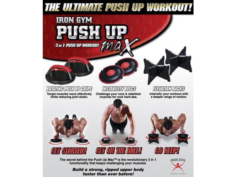 Iron Gym Push Up Max