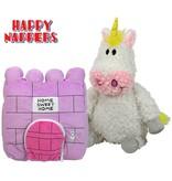 Happy Nappers Knuffelkussen Eenhoorn