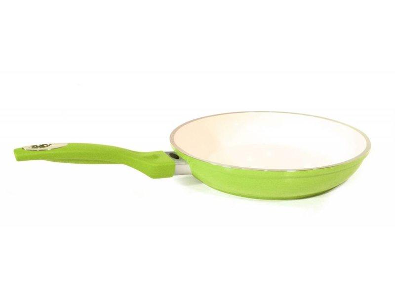 Durandal ceramische pan 26cm Groen