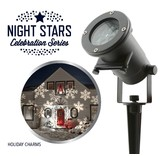 Laser Light - Night Stars Holiday Charms