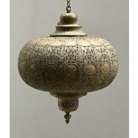 Kleine filigrain hanglamp Oud Goud kleur