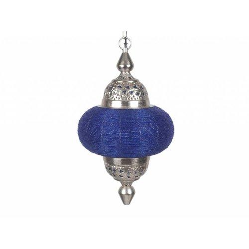 Hanglamp Casablanca groot blauw