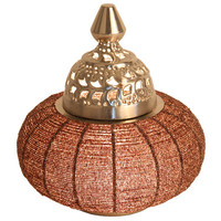 Tafellamp Casablanca bruin