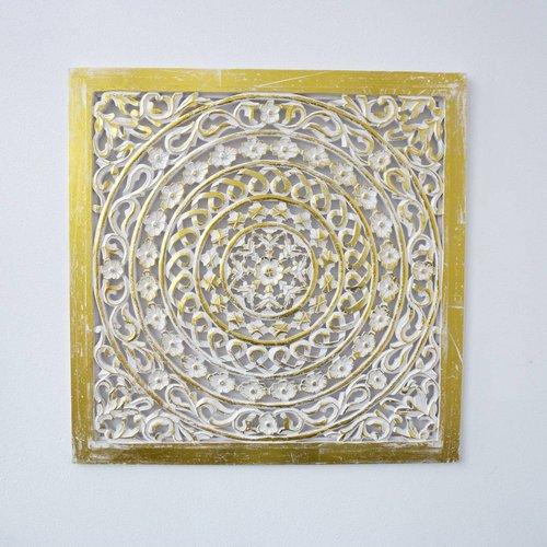 Wandpaneel Goud 100x100cm zonder verlichting