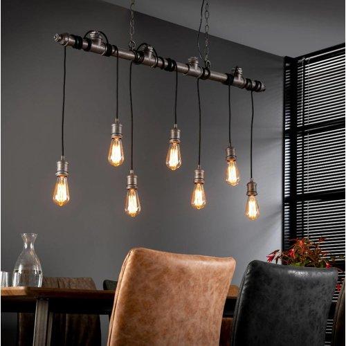 Industrieel hanglamp Kiana + 7 led gloeilampen cadeau