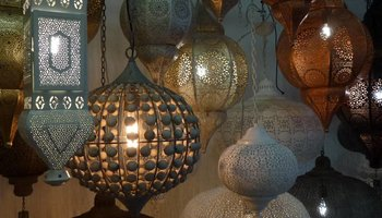Oosterse filigrain lampen