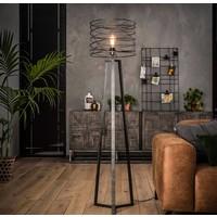Industrieel vloerlamp Schmidt + led gloeilamp cadeau