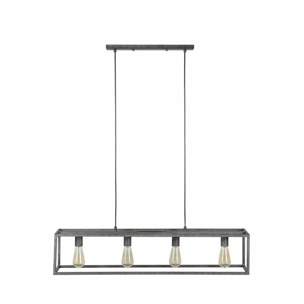Industrieel hanglamp Bennet + led gloeilampen cadeau