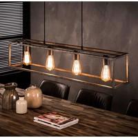 Industrieel hanglamp Bennet in 3 afmetingen + led gloeilampen cadeau