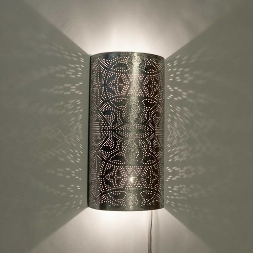 Wandlamp Ameera zilver