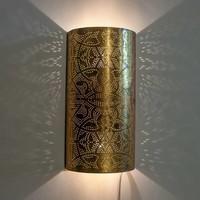 Wandlamp Ameera goud
