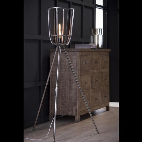 Vloerlamp Hodges + led lamp cadeau