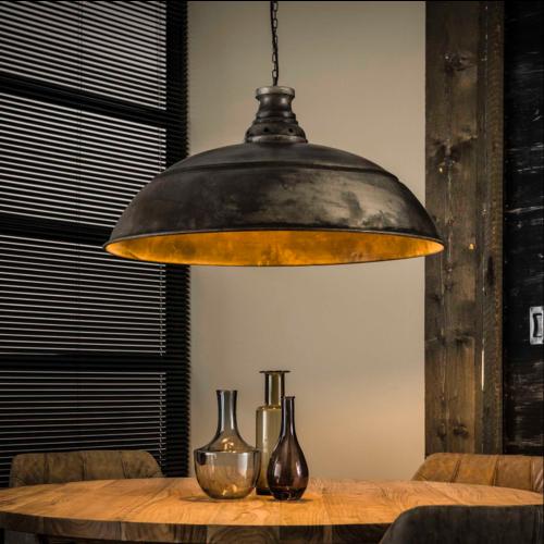 Industrieel hanglamp Hunter + led gloeilamp cadeau