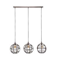 Industrieel hanglamp Gillespie + 3 led gloeilampen cadeau