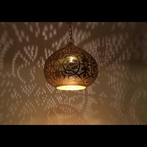 Hanglamp Ameera goud union