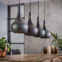Hanglamp Ciara in 2 kleuren + 4 led gloeilampen cadeau
