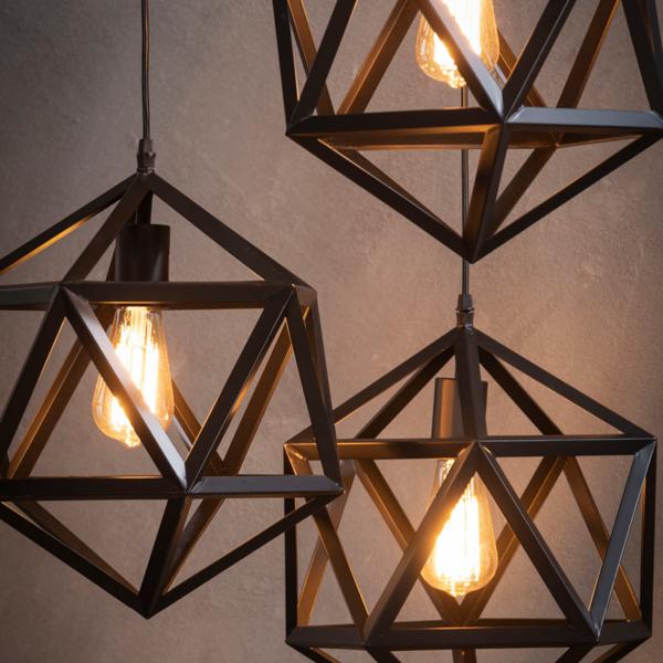 Hanglamp Mahira + 3 led gloeilampen cadeau