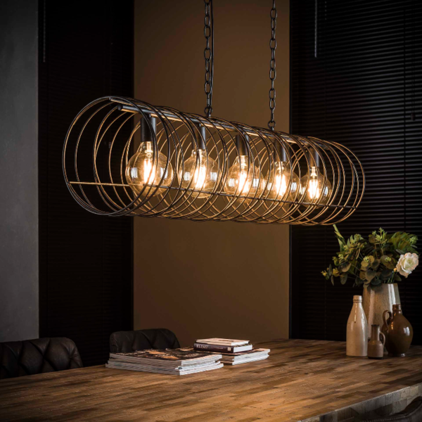 Hanglamp Chelsie + 5 led gloeilampen cadeau