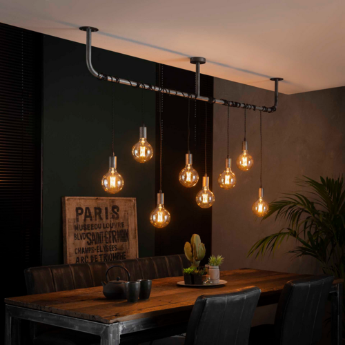 Hanglamp Marissa + 8 led lampen cadeau