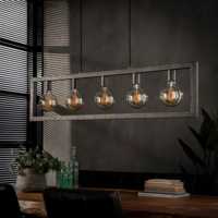 Hanglamp Rush in 2 afmetingen + led lampen cadeau
