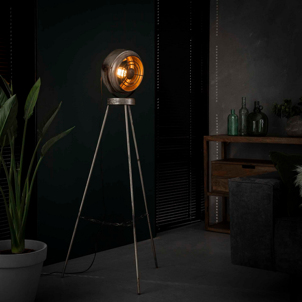 Vloerlamp beam + led gloeilamp cadeau