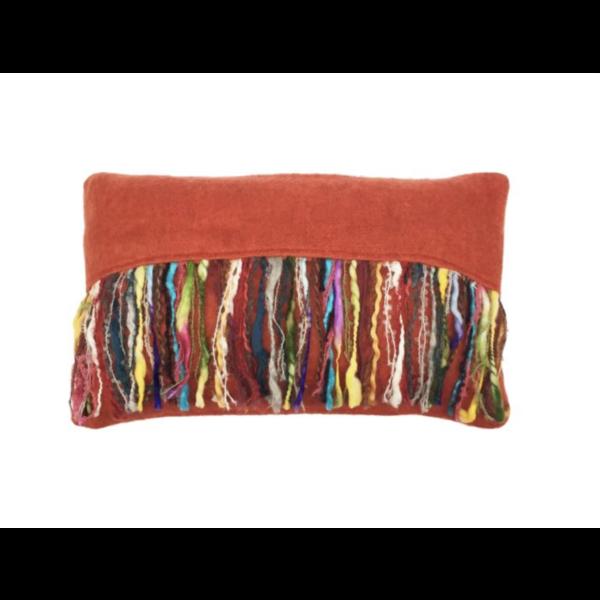 Kussen Mohair Suede 50x30cm in 7 kleuren.