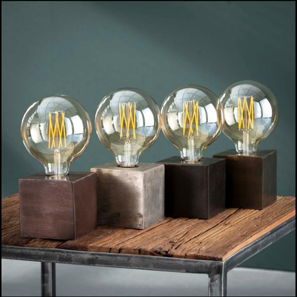Tafellamp Cooper in 4 varianten + led lamp cadeau