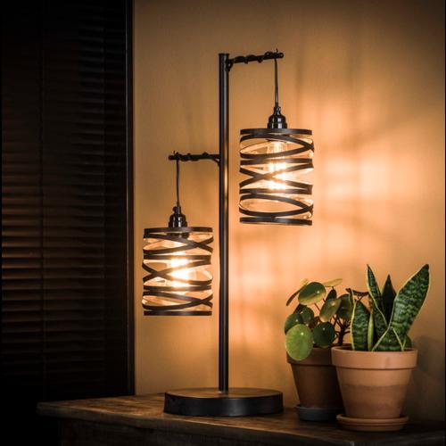 Tafellamp Rojin + 2 led lampen cadeau
