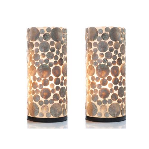 Tafellamp Kirby Cilinder in twee maten