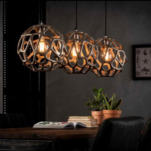 Hanglamp Sears + 3 led gloeilampen cadeau