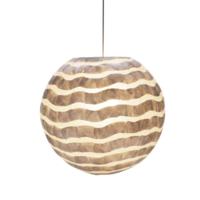 Hanglamp Aubrey Bol in twee maten