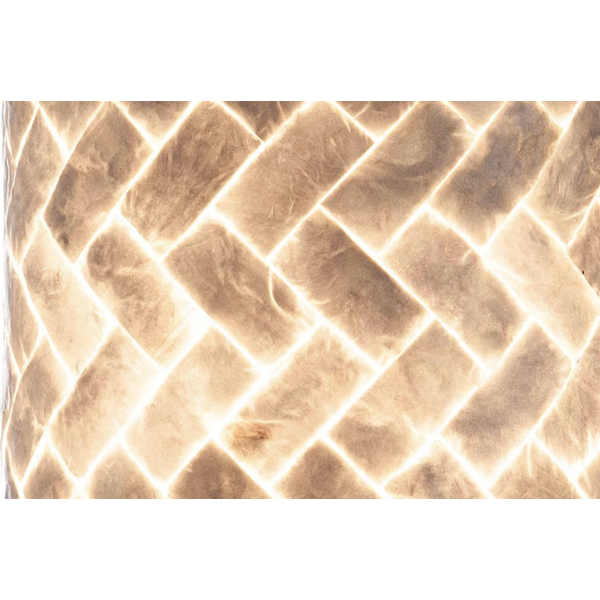Wandlamp set Wodan Rechthoek