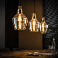 Hanglamp Salas kegel + 3 led lampen cadeau