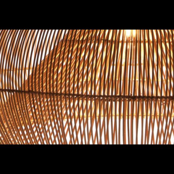 Hanglamp Tai Dome, in twee kleuren.