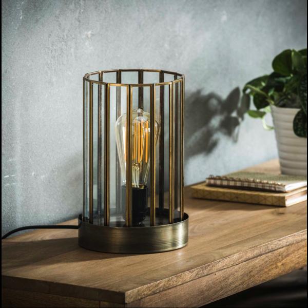 Tafellamp Emmeline + led lamp cadeau