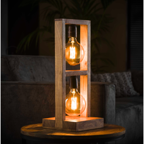 Tafellamp Munoz + 2 led lampen cadeau